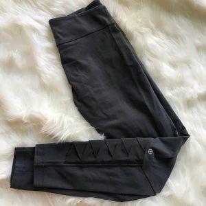 Lululemon Dark Gray Leggings - Size 8